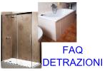 Vasca Da Bagno Detrazione : Offerta trasformazione vasca da bagno in cabina doccia