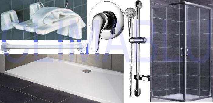 offerta costo trasformazione vasca da bagno in cabina doccia detrazione 50 climablu